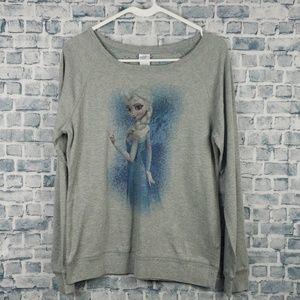 ♡6/$25♡ Frozen large sweatshirt (782)